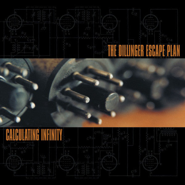 The Dillinger Escape Plan - Calculating Infinity - New Vinyl Record 2015 Relapse USA Limited Edition 'Flourescent Orange' Vinyl - Hardcore / Metalcore / Tech-Metal