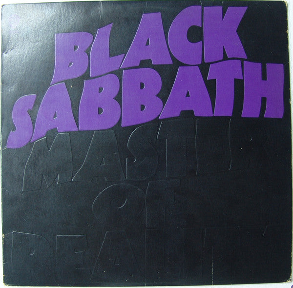 Black Sabbath ‎– Master Of Reality (1971) - VG Stereo USA (Palm Tree Label) - Rock