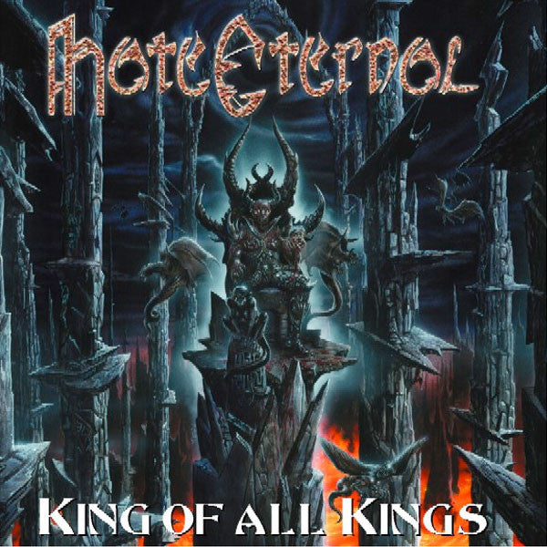 Hate Eternal - King of All Kings - New Vinyl Record 2015 Earache Records Limited Edition 180gram 2-LP Gatefold Pressing, 1st ever reissue - Death Metal