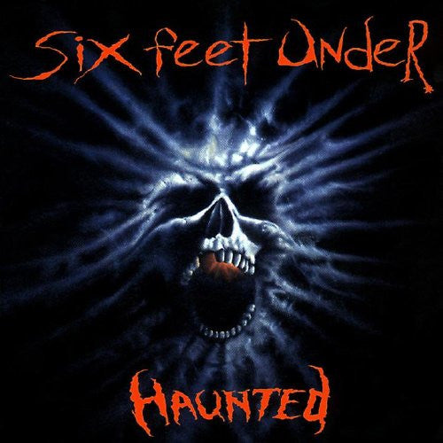 Six Feet Under - Haunted - New Vinyl Record 2016 Metal Blade Limited Edition Reissue - Death Metal