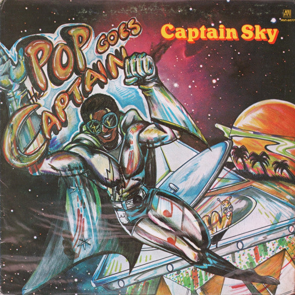 Captain Sky ‎– Pop Goes The Captain  VG+ 1979 AVI Stereo Original Press USA - Funk / Disco