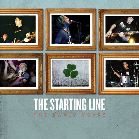 The Starting Line - The Early Years - New Vinyl Record 2016 SRC Limited Edition Reissue Gatefold LP on Coke-Bottle-Clear Swirl Vinyl - Pop-Punk / Punk