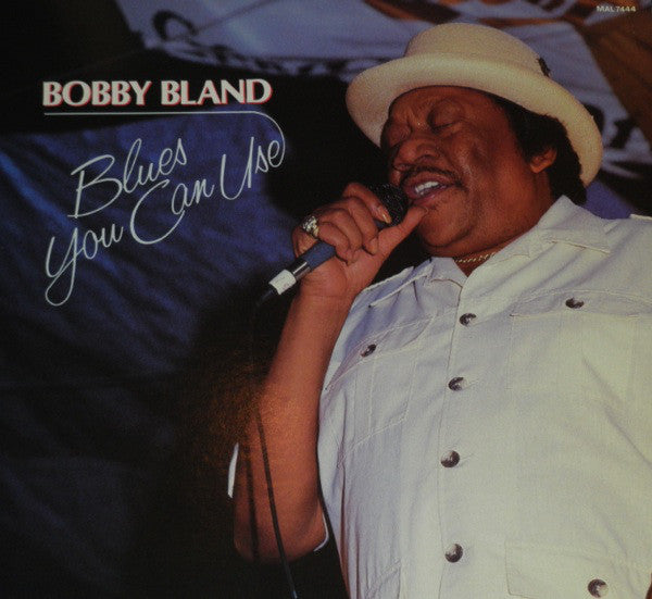 Bobby Bland ‎– Blues You Can Use - Mint- 1987 Stereo Original Press USA - Blues