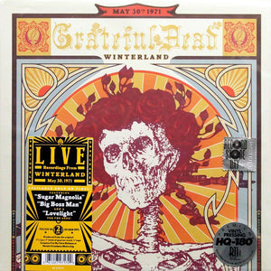 The Grateful Dead – Winterland May 30th 1971 - Mint- 2 LP USA (180 Gram Record Store Day Limited Edition) - B18-105