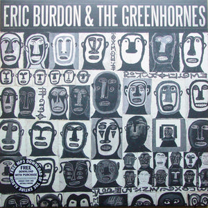 Eric Burdon & The Greenhornes ‎- s/t - New Vinyl Record 2012 RSD Black Friday Release limited to 2000 copies - Rock