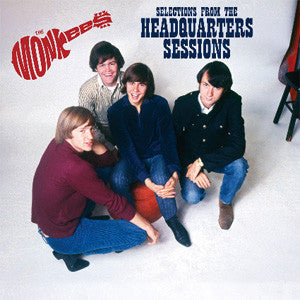 The Monkees ‎– Selections From The Headquarters Sessions - New Lp Record 2012 USA Numbered to 2500 Red Vinyl - Pop Rock