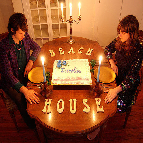 Beach House - Devotion - New Vinyl Record 2008 Carpark 2-LP Gatefold