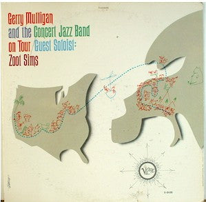 Gerry Mulligan & The Concert Jazz Band & Zoot Sims – On Tour - Mint- USA Stereo 1962 - JAZZ - B17-108