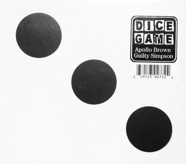 Apollo Brown / Guilty Simpson - Dice Game - New Vinyl Record 2012 Mello Music Group USA - Rap/Hip Hop