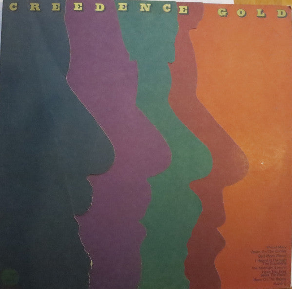 Creedence Clearwater Revival ‎– Creedence Gold - VG+ Lp Record 1972 Stereo USA Vinyl - Classic Rock