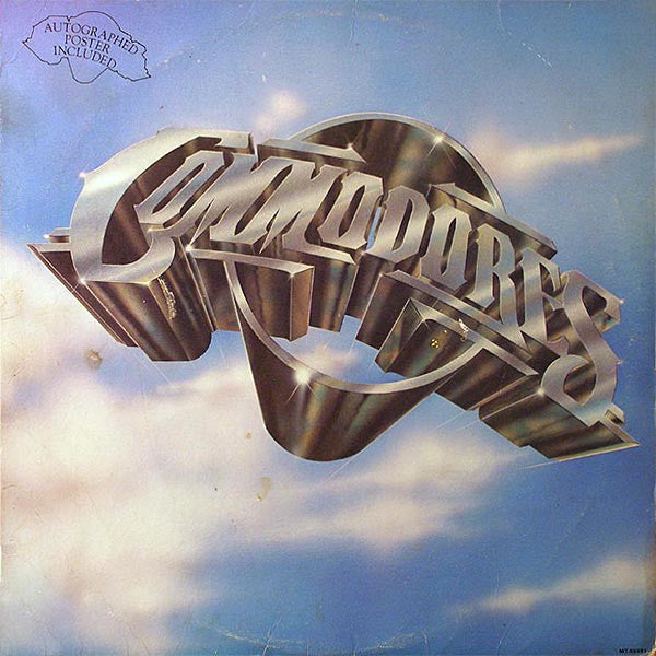 Commodores – Commodores - Mint- 1977 USA (Original Press With HUGE  Autographed Poster) - Funk/Soul - B16-025