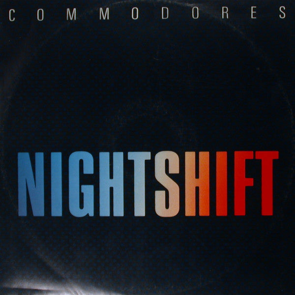 "Commodores - Nightshift - VG+ 12"" Single 1985 USA - Disco"