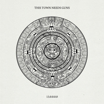 This Town Needs Guns - 13.0.0.0.0 - New Vinyl Record 2013 Sargent House LP - Indie / Math Rock / Emo