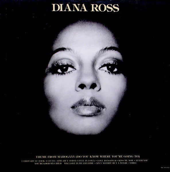 Diana Ross - Diana Ross (Theme From Mahogany) - VG Lp Record 1976 USA Original Vinyl - Soul