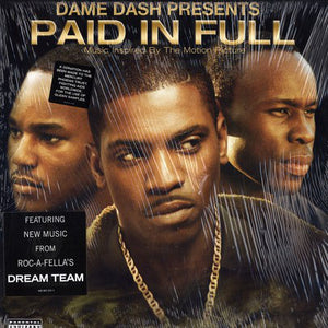 Various ‎– Paid In Full (Music Inspired By The Motion Picture) - VG+ 2 Lp Record 2002 Promo USA Vinyl & Insert - Hip Hop / Soundtrack