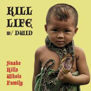 "Kill Life w/ DWID - Snake Kills Whole Family / S.I.L. - New Vinyl Record 2011 Magic Bullet USA 7"" Limited Edition Green Vinyl - Hardcore / Punk feat. Members of Integrity, Fucked Up"