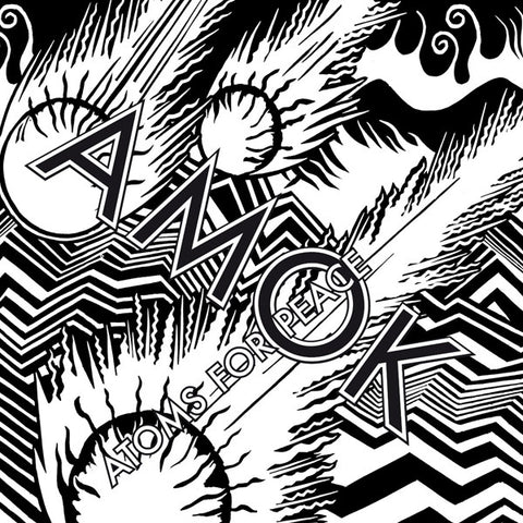 Atoms for Peace - AMOK - New 2 Lp Record 2013 USA Vinyl & Download - Indie Rock / Electronic