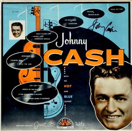 Johnny Cash - With His Hot And Blue Guitar (1957) - New Vinyl Record 2015 Reissue Press USA - Country