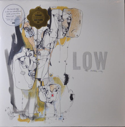 Low - The Invisible Way - New Lp Record 2013 Sub Pop USA Vinyl & Download - Indie Rock