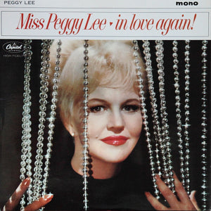 Peggy Lee ‎– In Love Again! - Mint- Lp Record 1964 Capitol USA Mono Vinyl - Jazz Vocal / Pop