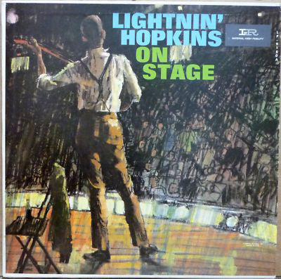 Lightnin' Hopkins ‎– On Stage - New Vinyl Record - 2013 UK Press
