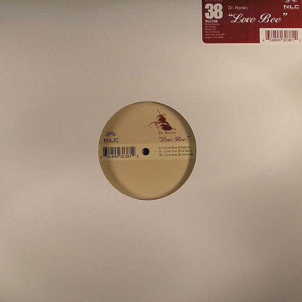 "Dr. Honey ‎– Love Bee - Mint- 12"" Single USA 2004 - Chicago House/Deep House"