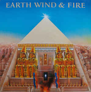 Earth, Wind & Fire ‎– All 'N All - VG+ 1977 Columbia Stereo (Original Press) with HUGE Poster and Gatefold Sleeve USA - Soul / Funk / Disco