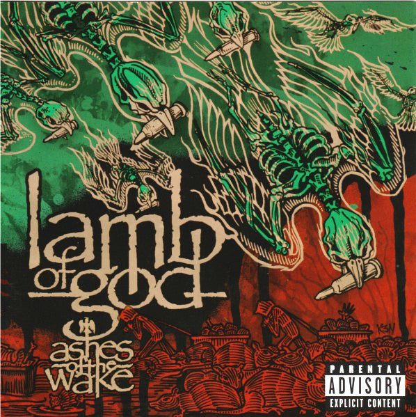 Lamb of God - Ashes of the Wake - New Vinyl Record 2004 Epic USA - Metal / Thrash