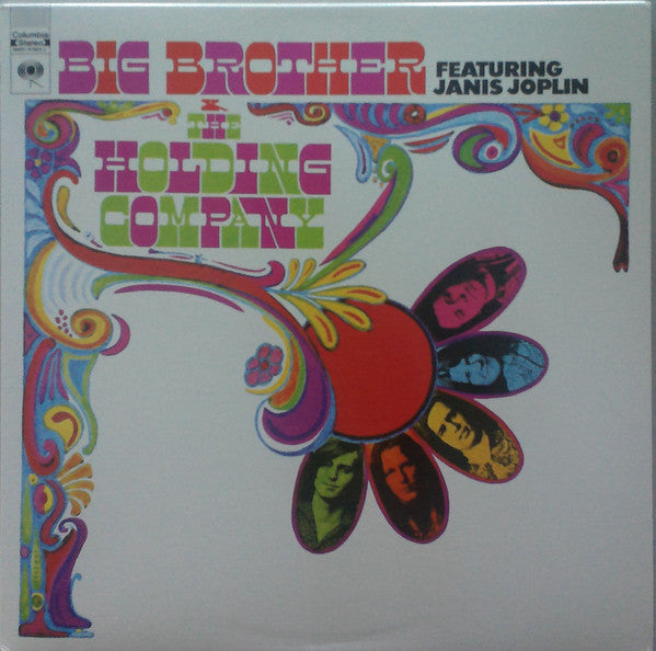 Big Brother & The Holding Company ‎– Big Brother & The Holding Company - New Lp Record 2011 USA Stereo 180 gram Vinyl - Classic Rock / Psych