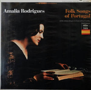 Amalia Rodrigues - Folk Songs of Portugal - Mint- USA Folk