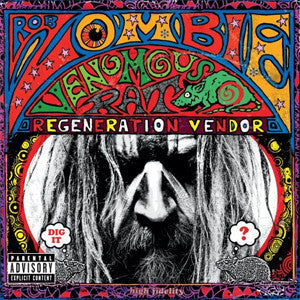 Rob Zombie - Venemous Rat Regeneration Vendor - New Vinyl 2014 Universal Gatefold 180gram LP - Metal / Hardrock / Industrial