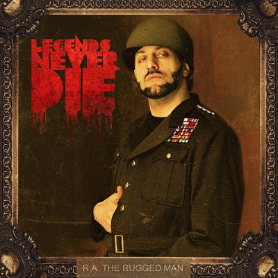 R.A. the Rugged Man - Legends Never Die - New Vinyl Record 2013 Nature Sounds USA 2-LP - Rap/HipHop