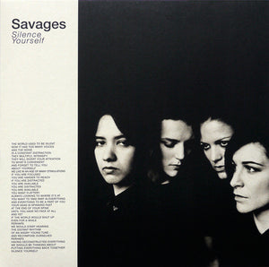 Savages -Silence Yourself - New LP Record  2013 Matador Vinyl - Post-Punk