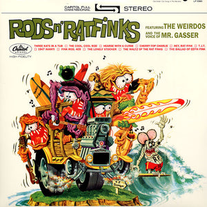 Mr. Gasser & the Weirdos - Rods & Ratfinks - New Lp Record Store Day 2011 Sundazed USA RSD Vinyl - Surf Rock