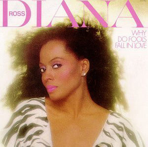 Diana Ross ‎– Why Do Fools Fall In Love - Mint- Lp Record 1981 USA Vinyl - Soul