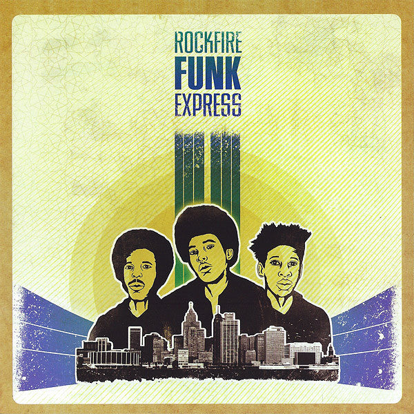 "Rockfire Funk Express - People Save The World - New Vinyl 2013 Third Man USA Reissue 7"" 45 RPM - Funk / Soul"