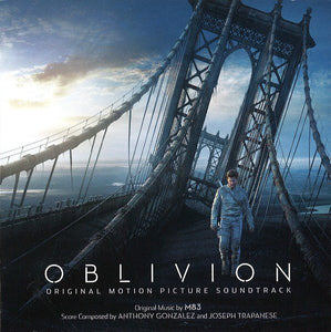 M83 / Anthony Gonzalez / Joseph Trapanese - Oblivion Original Motion Picture Soundtrack - New Vinyl Record 2013 Gatefold 2-LP 180 Gram - Imagine M83 and Hans Zimmer had a baby / Soundtrack