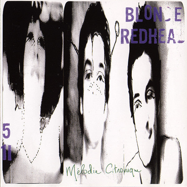 Blonde Redhead - Melodie Citronique - New Ep Record 2000  Touch And Go USA Vinyl - Indie Rock