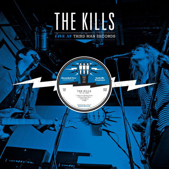 The Kills - Live at Third Man - New Vinyl 2012 Third Man USA - Garage / Indie / Rock