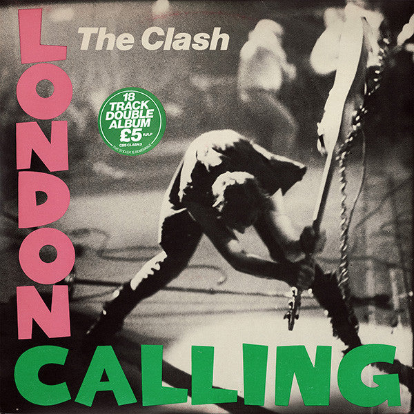 The Clash ‎– London Calling - VG+ 2 Lp Record 1979 USA Original Vinyl & Matching Inner Sleeves - Punk / Rock - B1-088