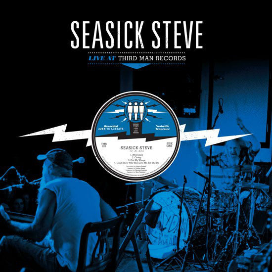 Seasick Steve - Live at Third Man - New Vinyl 2012 Third Man USA - Blues/Rock
