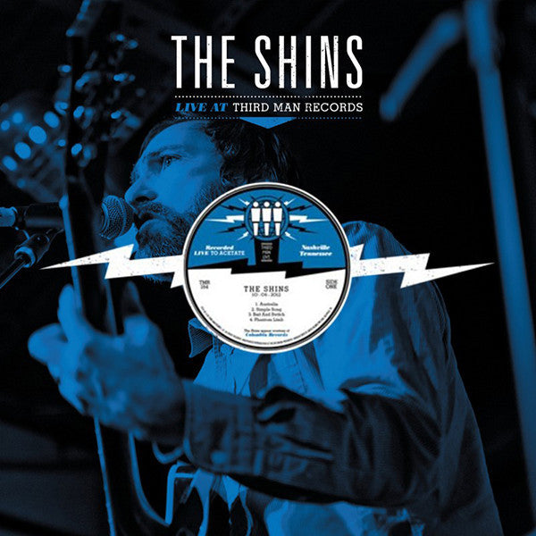 The Shins - Live at Third Man - New Vinyl 2012 Third Man USA - Indie/Rock