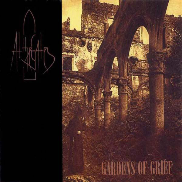 At The Gates - Gardens of Grief - New Vinyl 2015 RSD Pressing 180gr Marble Brown/Black Vinyl - Limited to 1500 Copies!