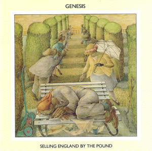 Genesis ‎– Selling England By The Pound - VG+ Lp Record 1973 USA Charisma Pink Label with Insert - Prog Rock