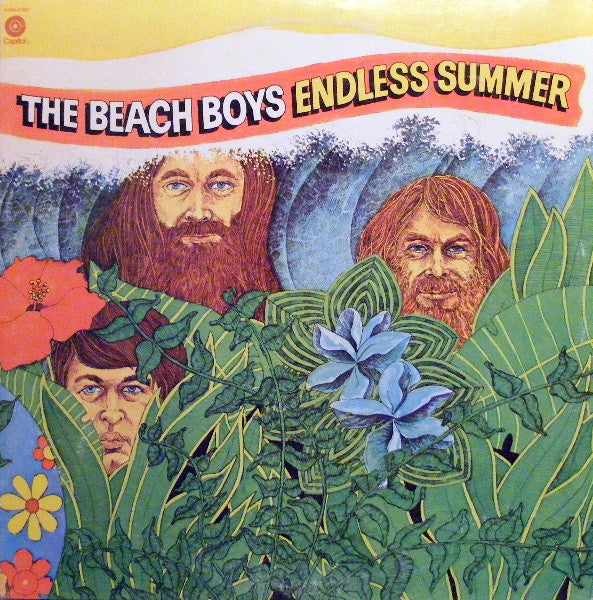 The Beach Boys ‎– Endless Summer - VG+ 1974 Stereo USA 2 LP (With HUGE POSTER) - Rock/Surf