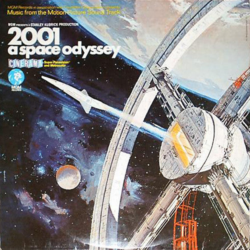 Stanley Kubrick - 2001: A Space Odyssey - Mint- Stereo 1969 USA Original Press - Soundtrack