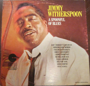 Jimmy Witherspoon ‎– A Spoonful Of Blues - VG Lp Record 1960 USA Mono Original Vinyl - Blues