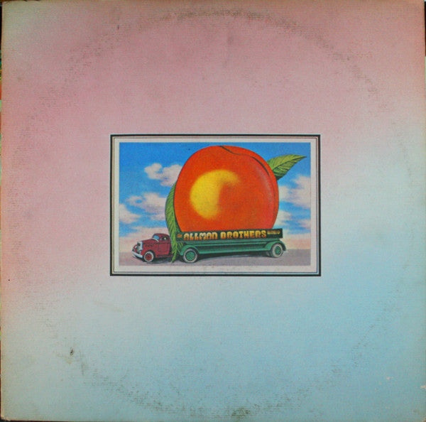 The Allman Brothers Band ‎– Eat A Peach - VG 1972 Stereo USA Original Press (With Insert Sheet) - Rock