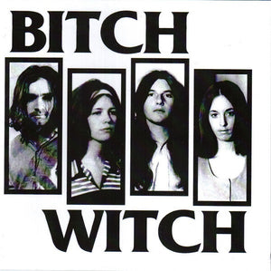 Bitch Witch - S/T - New Vinyl Record 2014 Cubo De Sangre Black Vinyl Press w/ CD Copy - Hardcore / Crust