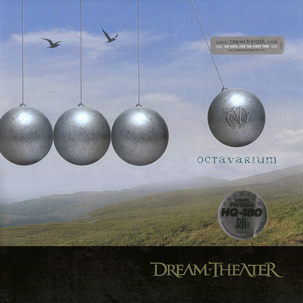 Dream Theater - Octavarium - New Vinyl Record 2013 Atlantic 180gram 2-LP Gatefold (First Time on Vinyl) - Prog Metal / Rock